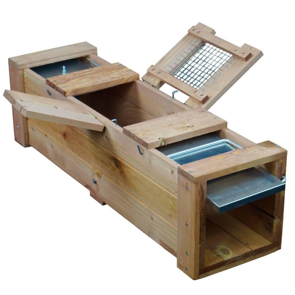 Kauf einer Marderfalle aus Holz